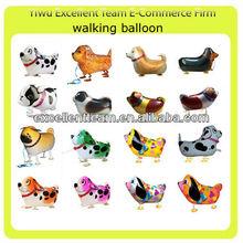 mix order! 2013 new walking animal balloon walking dog balloons
