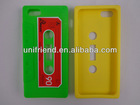 5G silicone cell phone case,tape silicone cell phone cover for iphone 5