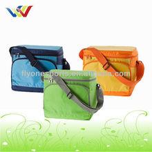 Colored Shoulder Strap Insulated Beer can Cooler Bag