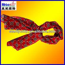 2013 mens stripe dot scarf italian suit cravat (ST-SC243)