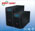 - debe solar- lcd de alta frecuencia en línea de ups 220v 50hz 110v 60hz suministro de energía ups