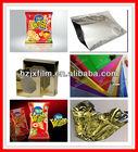 Reflective metallic PET packaging film