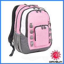 Pink school laptop backpack/personalized bags backpack/kids school bags