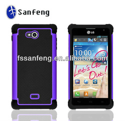 Combo Shell Cover For Lg ms870,Elegant Case For Lg,Waterproof Case For Lg ms870