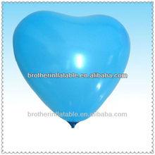 Hot sale sea blue weather heart shaped balloon