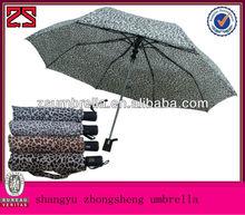 ladies umbrella 3 fold mix color