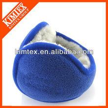 Promotional knit polyester fleece earmuffs
