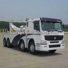 howo white 6*4 336hp 50t truck mounted crane