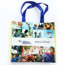 Popular laminated pp woven shopping bag