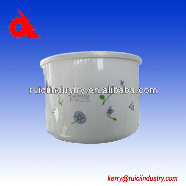 3pcs iron color decal enamel cookware