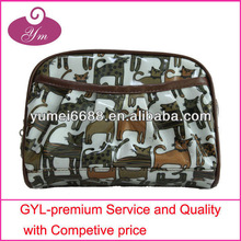 Very cool design with cute cat hot sale make up bag