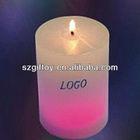 make color changing led candles