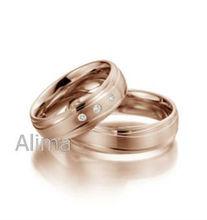 Agr0108- r- gül altın eşsiz kıvrımlı yüzük elmas belden om tasarım açmıştı unisex altın takı