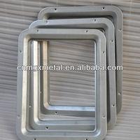 Metal Fabrication Pressing Stamping Punching Cuttting Bending Metal Aluminum Window Frame Parts