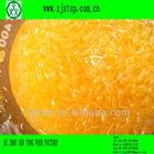mandarin orange sacs of 3kg with 60% pulp