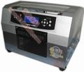 Digital impressora de cartão plástico, a4 tamanho 6 cores.
