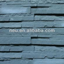 Plastic wall,PU wall,Recycled plastic wall,3D wall panels,ledge atone panle,Plastic stone