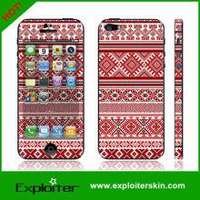 For apple iphone 5G vinyl skin in colorful 3m vinyl