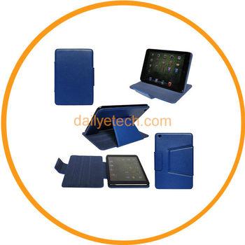 Magnetic PU Leather Fold Stand Case Sleep Wake Stylus For iPad Mini from Dailyetech