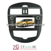 car audio video entertainment navigation system for Nissan tiida 2011
