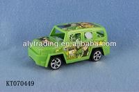 Shantou Farah Toys Plastic Cheap Small Ben10 Toy Pull Back Car