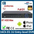 em stock novo lançamento preço distribuidor dahua fulll 16 canal d1 standalone dvr dvr5216a