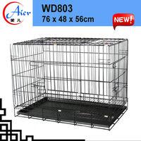 Manufacurer aluminum folding dog cage