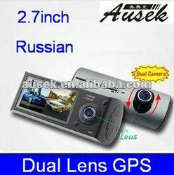 popular 2 ch/channal digital video camera support GPS