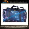 Blue printing travelling bag