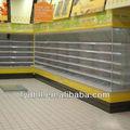 Supermercato forniture, congelatore commerciale, latticini cibo vetrina