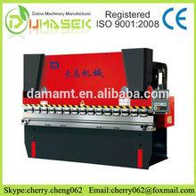 Hydraulic Torsion Bar press brake/sheet metal bending machine /CNC 3 axes hydraulic bending machine