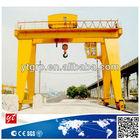 Heavy Duty Double Girder Container Gantry Crane 100 ton
