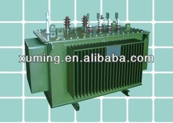 power supply three phase 220kva 22kv toroidal core copper wire for winding Oil type Transformer
