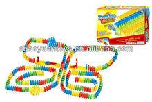 Education toys plastic domino blocks slingshot dominoes BK49038314