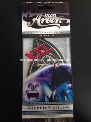 XXL car air freshener card