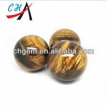 CH-ZHJ324 Round Ball Yellow Pure Tiger Eye ball