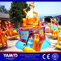 Rides amusement kangaroo jumping/ kangaroo jump ride for theme park