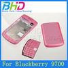 High Quality Gloss Oil full housing case cover for blackberry bold 9700