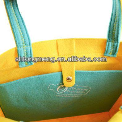 2013 Felt Bag/Felt Tote Bag made from 100% Recycled Water Bottles (TM-FELT-1304)