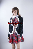 Factory supply girls Spicy checkered Halloween Costume sexy schools