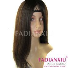 20 inch unprocessed virgin remy human hair wig