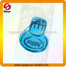 Customized hanging paper air freshener
