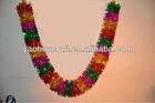 Artificial decoration plastic flower garland