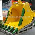 Komatsu pesada excavadora PC1250 cucharón para roca, para maquinaria de construcción, venta de piezas de repuesto