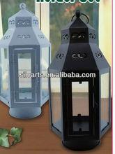 metal lantern candle holder