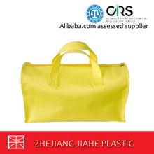 100% non-woven soft textured polypropylene bags traveling bags