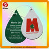 Hanging paper air freshener car fragrances