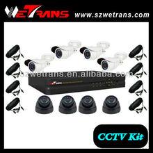 WETRANS CCTV KIT-5208BM-C Economical H.264 8CH DVR Kit Security Equipment