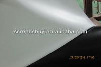 pvc white matt projection screen fabric/Perforated screen/rear projection film/3D Silver screen fabric