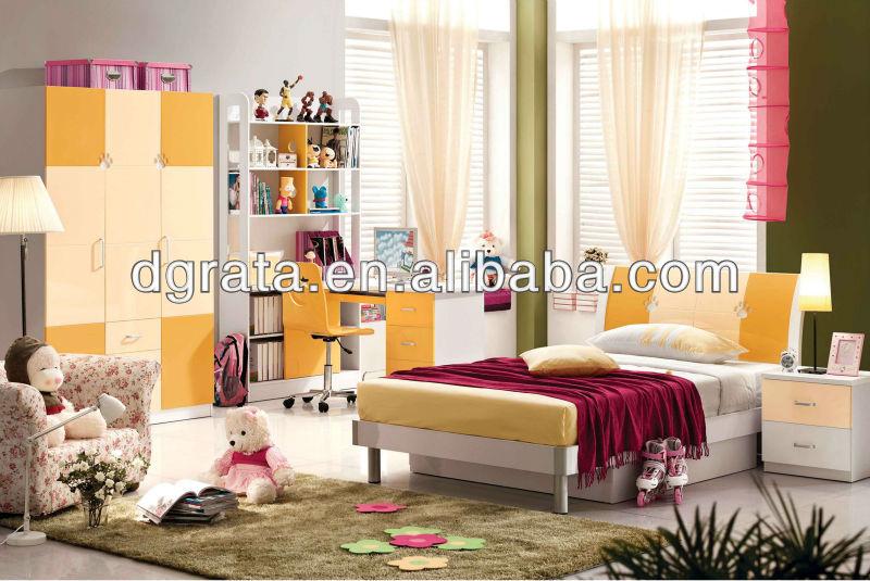 2013 Happy Sunshine Yellow Color Children Bedroom